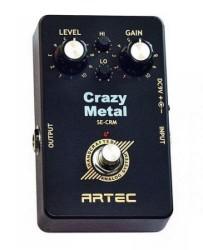Artec - Artec SE-CRM Crazy Metal Distortion Pedalı