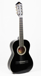 Barcelona - Barcelona LC 3400 2/4 Siyah Klasik Gitar +Kılıf