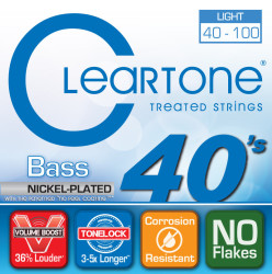 Cleartone - Cleartone 6440 Bas Gitar 4 Telli (40-100)