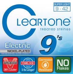 Cleartone - Cleartone 9409 Super Light Elektro Gitar Teli (09-42)