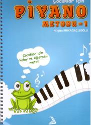 İşbilen Yayınları - Çocuklar İçin Piyano Metodu-1