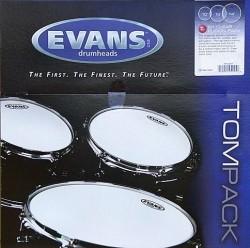 Evans - Evans ETP-G1CLR Şeffaf Tom Derisi Seti