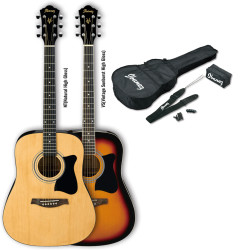 Ibanez - Ibanez V50NJP VS Vintage Sunburst Akustik Gitar Set