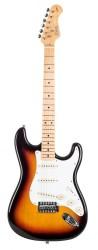 Kozmos - Kozmos KST-57SSS-GMN-3TS 57 Strat Sunburst Elektro Gitar