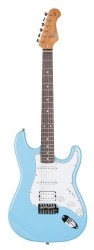 Kozmos - Kozmos KST-BSWHSS-GRWN-DBL Daphne Blue Elektro Gitar