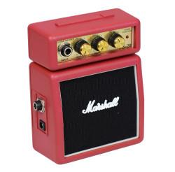 Marshall - Marshall MS-2R Kırmızı Mini Elektro Gitar Amfisi