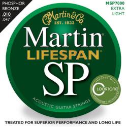 Martin&Co. - Martin MSP7000 92/8 Phosphor Bronze Akustik Gitar Teli (010-47)