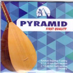 Pyramid - Pyramid First Quaility Kısa Sap Bağlama Teli (018)