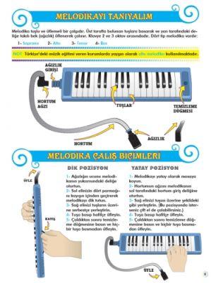 Orff Eşlikli Melodika Metodu 1. Bölüm (CD´li)