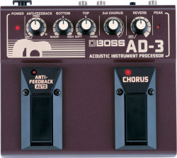 Boss - Boss AD-3(T) Acoustic Instrument Processor