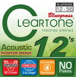 Cleartone - Cleartone 7423 Bluegrass Akustik Gitar Teli (12-56)