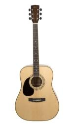 Cort - Cort AD880LH NAT Solak Akustik Gitar