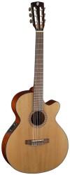 Cort - Cort CEC5 İnce Kasa Elektro Klasik Gitar