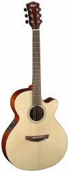 Cort - Cort SFX1F NAT Elektro Akustik Gitar