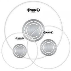 Evans - Evans ETP-PC1CLR-R Power Center Clear Drum Head Set