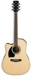 Ibanez - Ibanez PF15 LECE-NT Solak Elektro Akustik Gitar