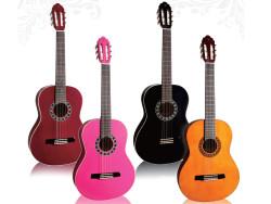 Valencia - Valencia CA1BK Siyah Klasik Gitar Seti