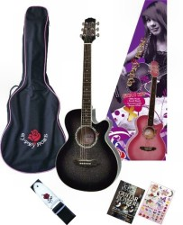 Valencia - Valencia GRA1KC Siyah Akustik Gitar Seti