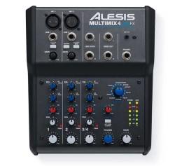 Alesis - Alesis MULTIMIX 4 USB FX Mixer Ses Kartı