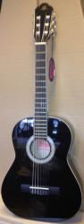 Barcelona - Barcelona LC 3600 3/4 Siyah Klasik Çocuk Gitarı + Kılıf