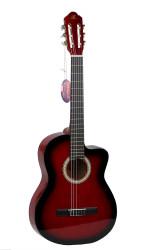 Barcelona - Barcelona LC 3900 CRDS Kesik Kasa Klasik Gitar + Kılıf