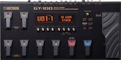 Boss - Boss GT-100 Amp Effects Processor