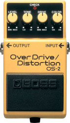 Boss - Boss OS-2(T) OverDrive-Distortion Compact Pedal