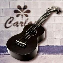 Carlos - Carlos CRU50-BK Siyah Soprano Ukulele + Kılıf