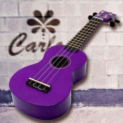 Carlos - Carlos CRU50-PRP Mor Soprano Ukulele + Kılıf
