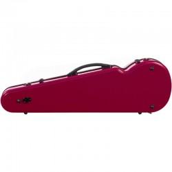 Carlovy VCP3 4/4 Kırmızı Keman Kutusu (Fiberglass) - Thumbnail