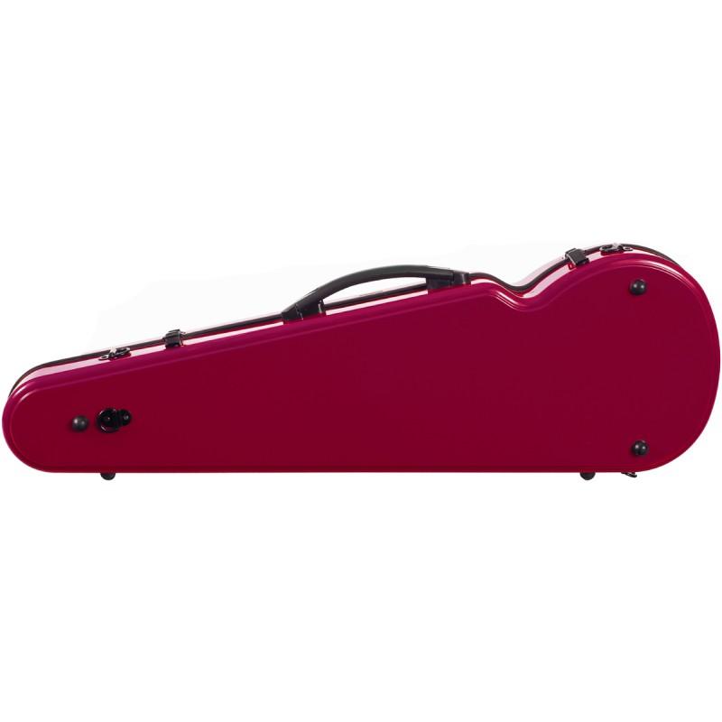 Carlovy VCP3 4/4 Kırmızı Keman Kutusu (Fiberglass)
