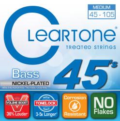 Cleartone - Cleartone 6445 Bas Gitar 4 Telli (45-105)
