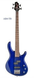 Cort - Cort AB4BM Mavi Bas Gitarlar