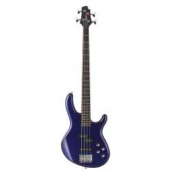 Cort - Cort AB4 Plus Mavi Aktif Bas Gitar + Kılıf