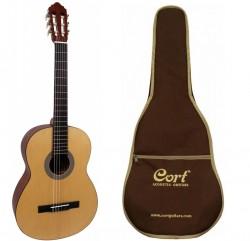 Cort - Cort AC100-OPW Mat Klasik Gitar(Orjinal Kılıflı)