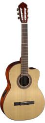 Cort - Cort AC120CE OPW Mat Elektro Klasik Gitar (Orjinal Kılıflı)