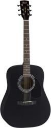 Cort - Cort AD810E BKS Mat Siyah Akustik Gitar