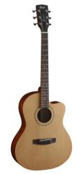 Cort - Cort JADE1-OP Kesik Kasa Naturel Akustik Gitar