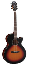 Cort - Cort SFX-E 3TSS Elektro Akustik Gitar