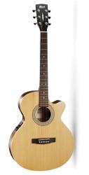 Cort - Cort SFX-ME NAT İnce Kasa Naturel Elektro Akustik Gitar