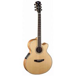 Cort - Cort SFX10NAT İnce Kasa Elektro Akustik Gitar