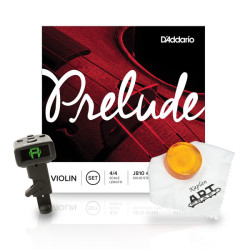 DAddario - D´Addario BO-TIN16 Prelude Keman Teli & Aksesuar Seti