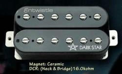 Artec Entwistle - Entwistle DARK STAR-N Humbucker Elektro Gitar Sap Manyetiği