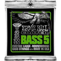 Ernie Ball - Ernie Ball P03836 5 Telli Bass Gitar Tel Seti (45-130)