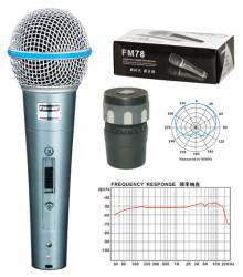 Fugue - Fugue FM-58A Mikrofon + Kablo