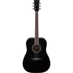 Ibanez - Ibanez PF15-BK Siyah Akustik Gitar