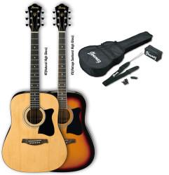 Ibanez - Ibanez V50NJP NT Naturel Akustik Gitar Set