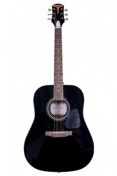 Kangson - Kangson K1-EB Siyah Akustik Gitar