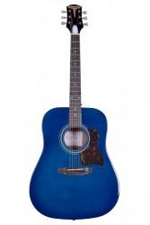 Kangson - Kangson K1-TL Mavi Akustik Gitar