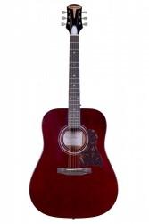 Kangson - Kangson K1-WR Bordo Akustik Gitar